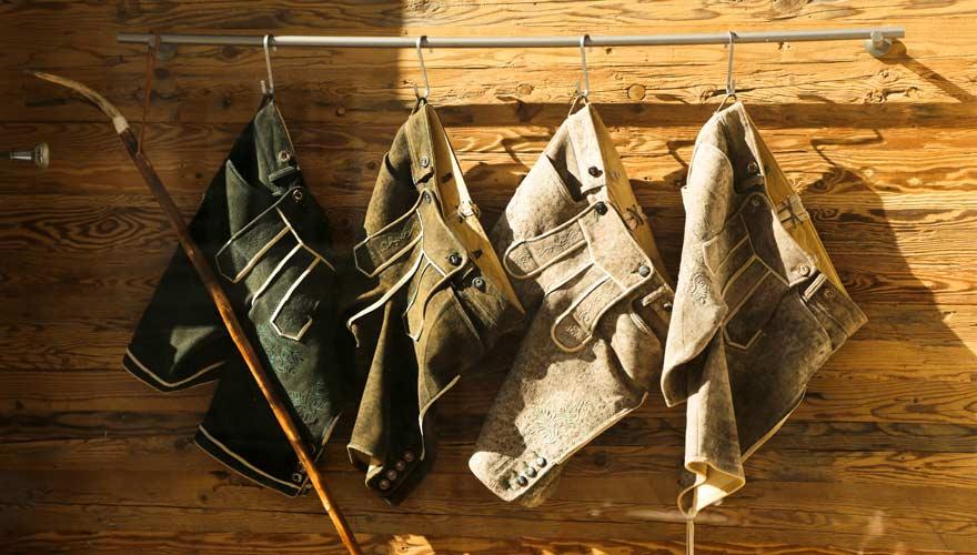 Typisch Österreich: Lederhosen