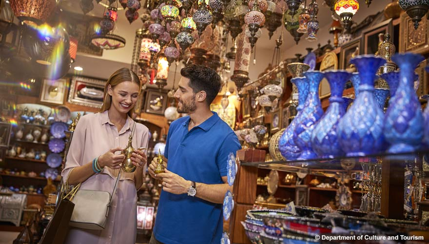 Shopping in Abu Dhabi - eine tolle Aktivität