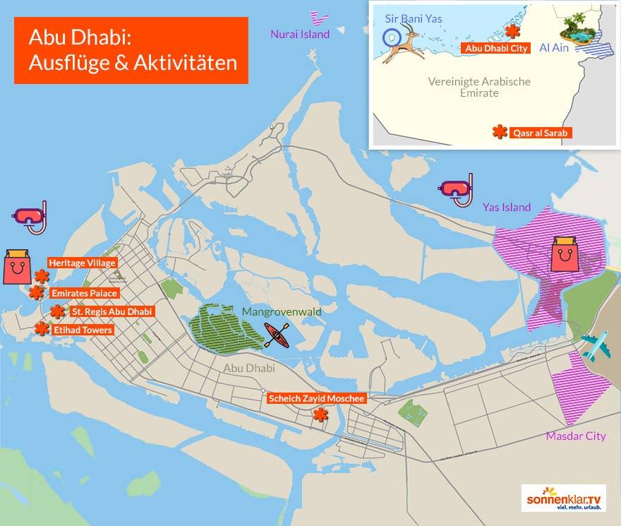 Grafik Abu Dhabi Ausflüge