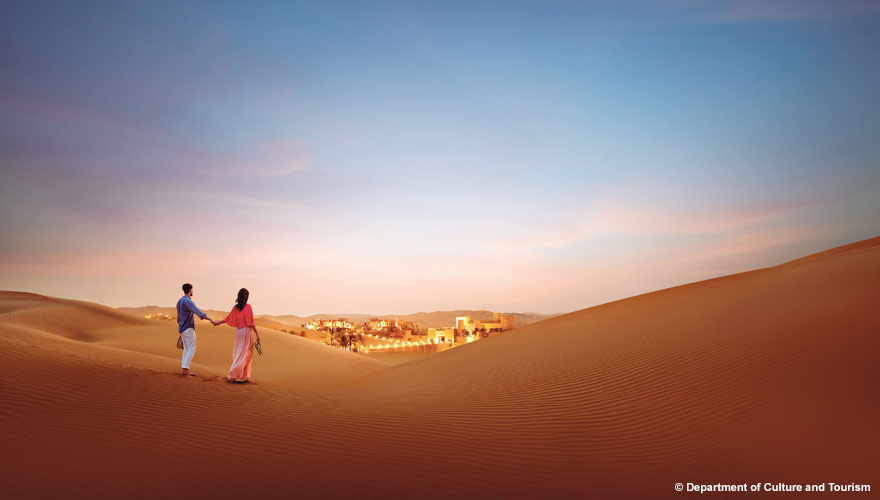Ein Ausflug nach Qasr al Sarab verspricht wahres Wüstenvergnügen in Abu Dhabi