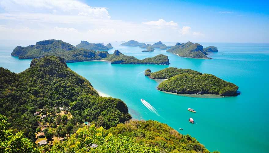 Einen Ausflug von Koh Samui wert ist der Ang Thong Marine Nationalpark