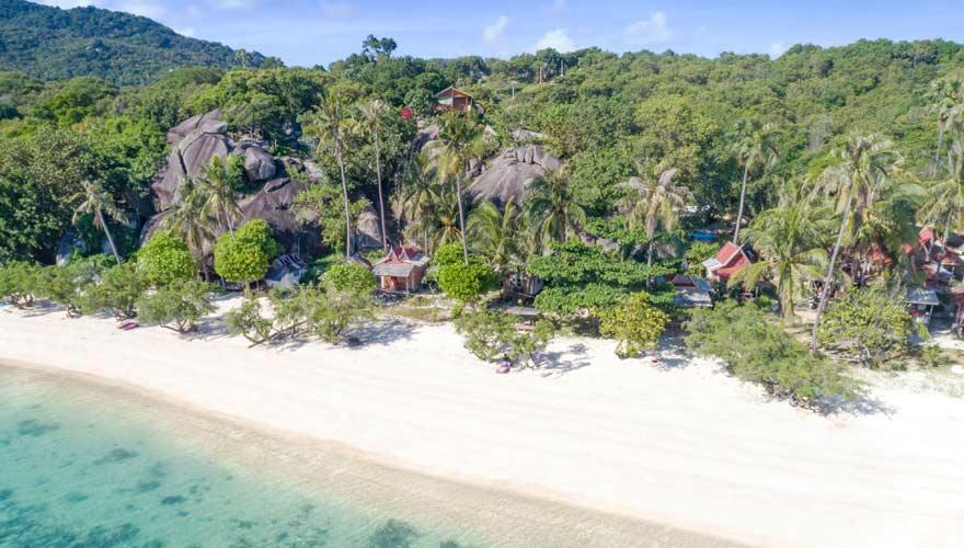 Koh Phangan ist ein tolles Ausflugsziel ab Koh Samui