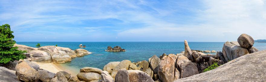 Die Hin Ta Hin Hai Felsen sind eine witzige Sehenswürdigkeit auf Koh Samui