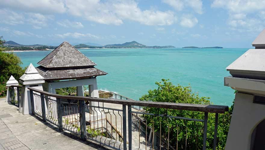 Ein toller Aussichtspunkt auf Koh Samui ist Lad Koh
