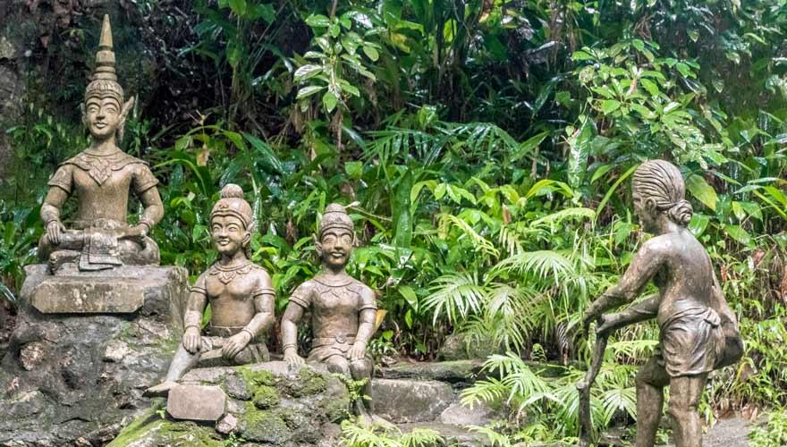Tarnim Magic Garden ist ein wunderbarer Ort auf Koh Samui