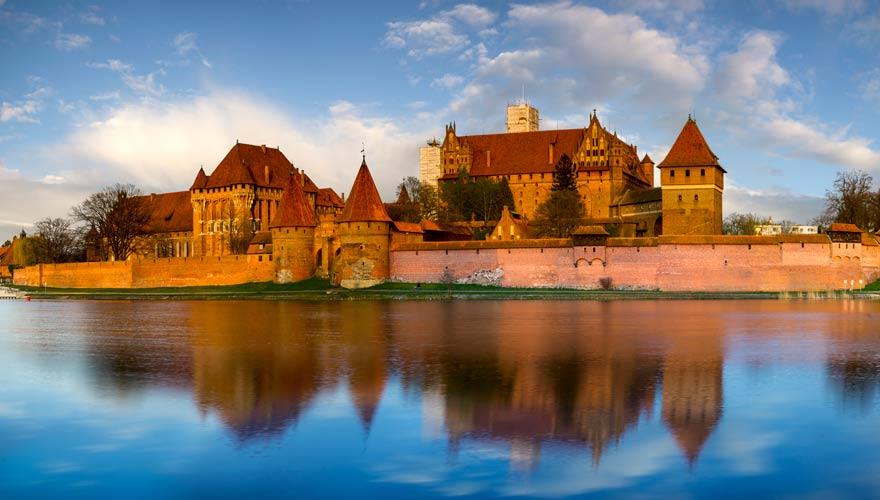 Die Marienburg in Polen ist ein echtes Highlight