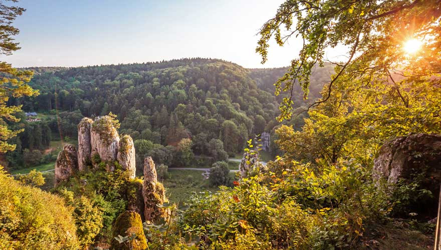 Ojców Nationalpark in Polen
