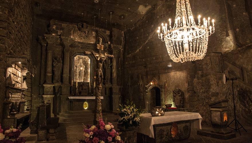 Das Salzbergwerk Wieliczka ist ein echter Polen-Reisetipp