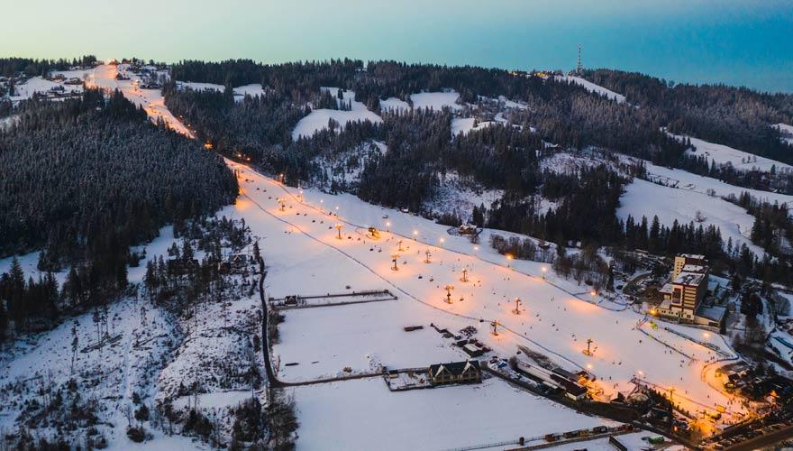 Das Skigebiet Szymoszkowa ist einer von Polens Reisetipps