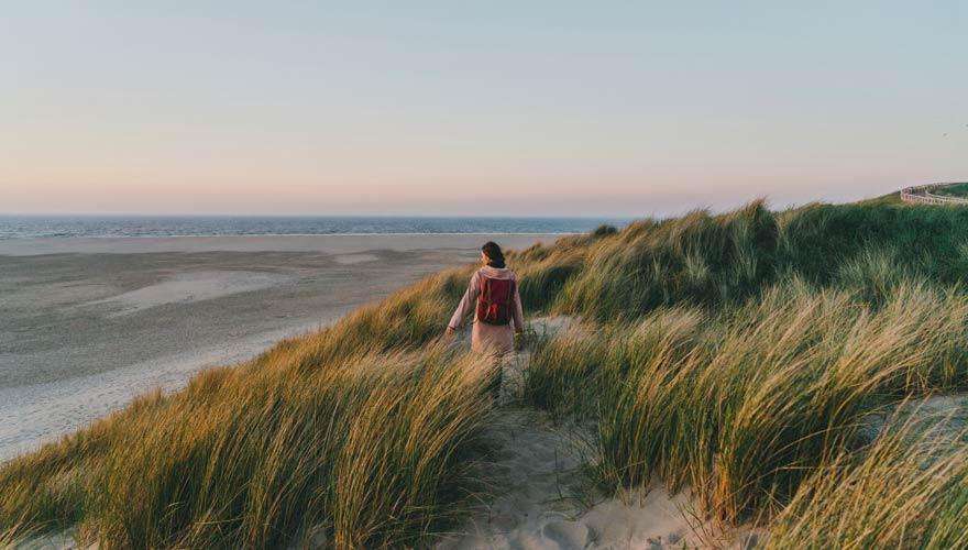 Insel Texel in den Niederlanden
