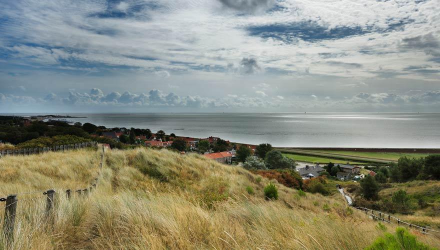 Insel Vlieland in den Niederlanden