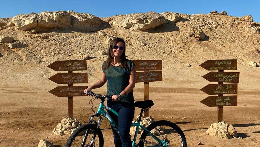Fahrradtour im Ras Mohammed Nationalpark