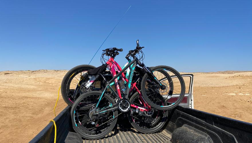 Fahrradausflug im Ras Mohammed Nationalpark