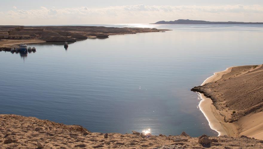 Die Bucht Marsa Bareika ist ein beliebter Tauch- und Schnorchelspot im Ras Mohammed Nationalpark
