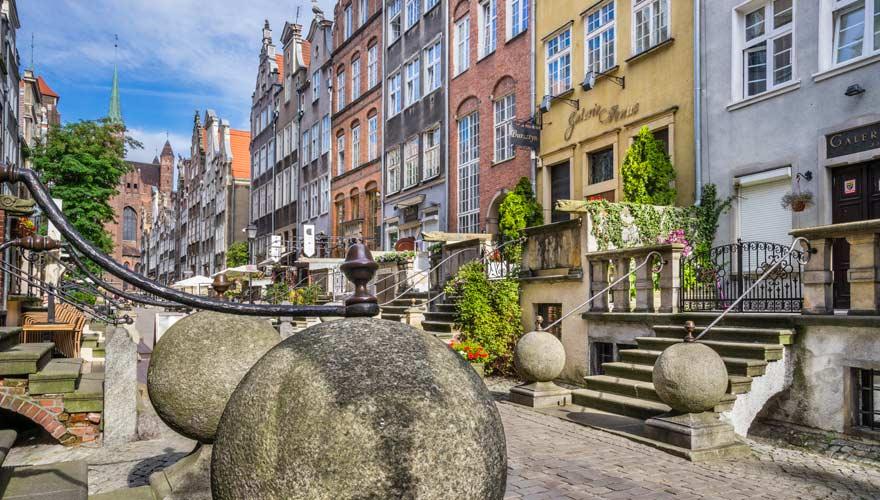 Danzig ist eine herrliche Stadt an der polnischen Ostsee