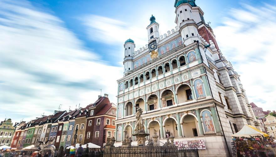 Rathaus im polnischen Posen