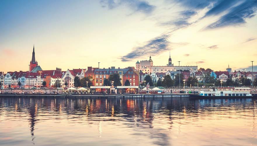 Eine tolle Stadt an der polnischen Ostsee ist Stettin