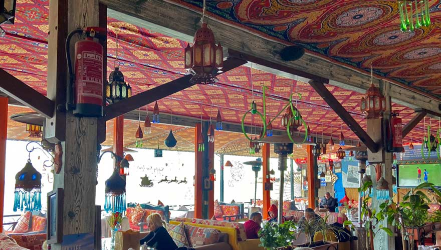 Ali Baba Restaurant in Dahab