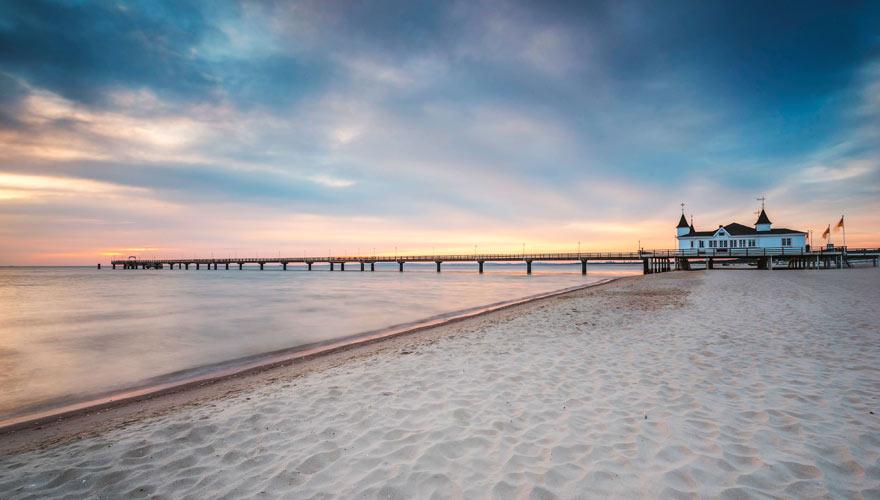 Strandbad Ahlbeck auf Usedom