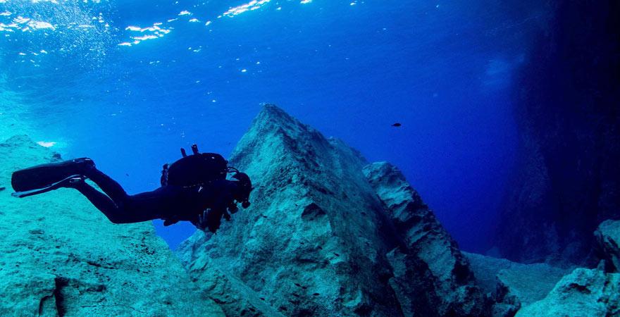 Tauchgang vor Malta