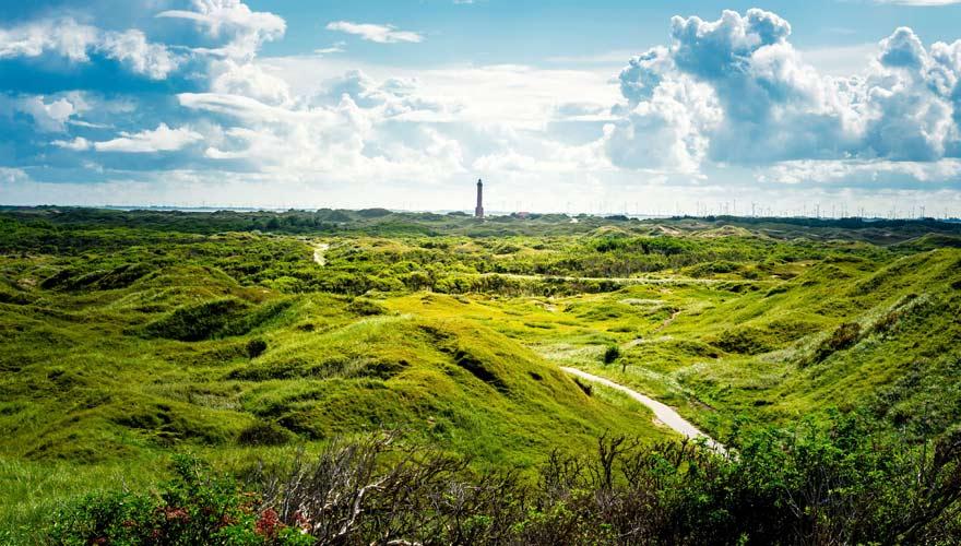 Landschaft der Insel Norderney