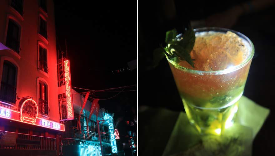 Impressionen von Paceville in St. Julian's auf Malta bei Nacht