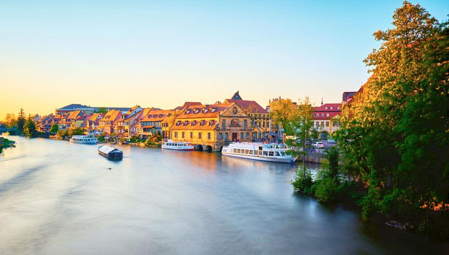 Panorama auf die Altstadt von Bamberg