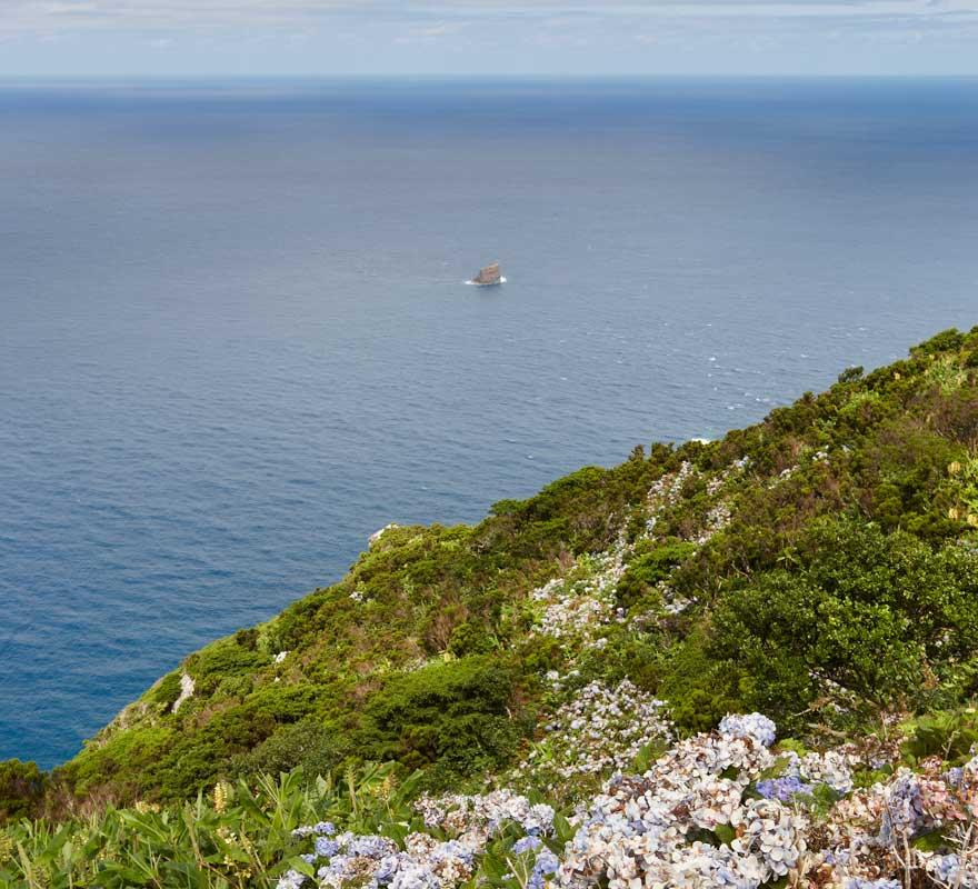 Ilheu de Monchique vor der Azoren-Insel Flores
