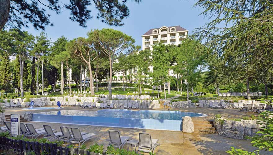 Pool im Hotel Melia Grand Hermitage am Goldstrand in Bulgarien