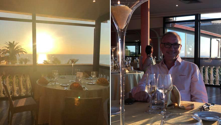 Dinner ohne Buffet im LABRANDA Rocca Nettuno Tropea - Teil des neuen Hygienekonzepts aufgrund Corona