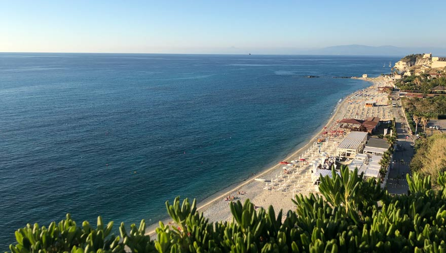 Strand vom LABRANDA Rocca Nettuno Tropea