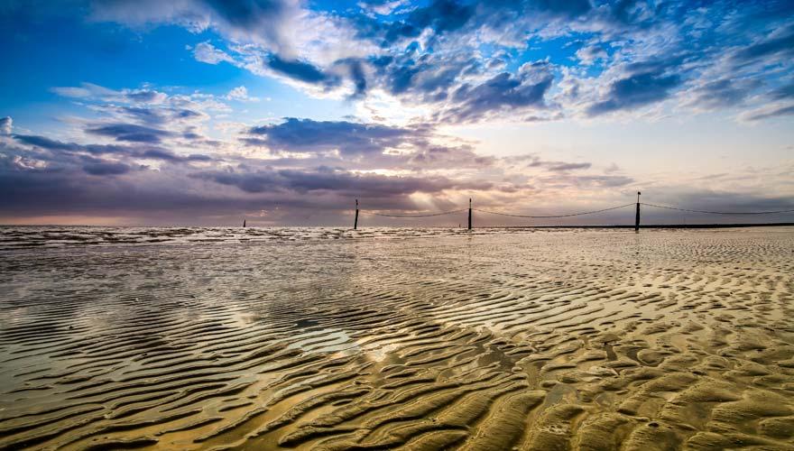 Wattenmeer vor Norderney