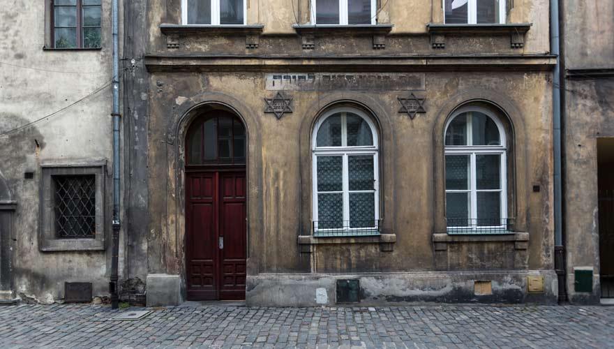 Häuser im Viertel Kazimierz in Krakau - ein absolut besuchenswerter Stadtteil