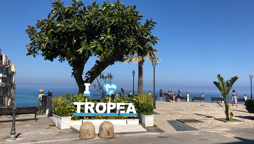 Urlaub in Tropea