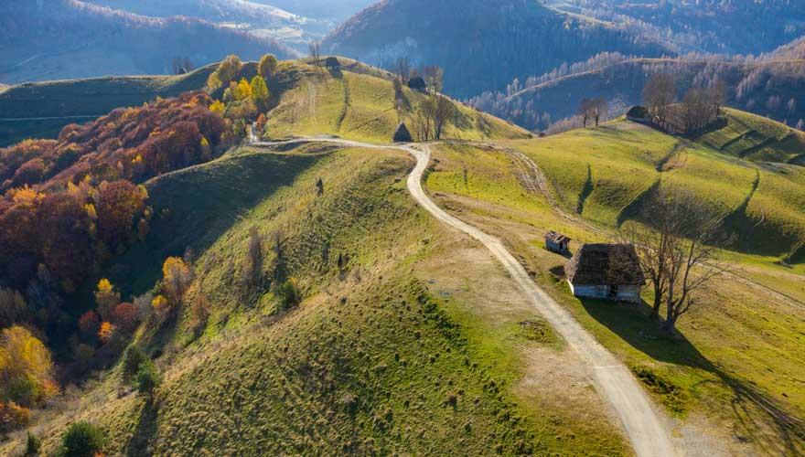 Apuseni-Gebirge in Rumänien
