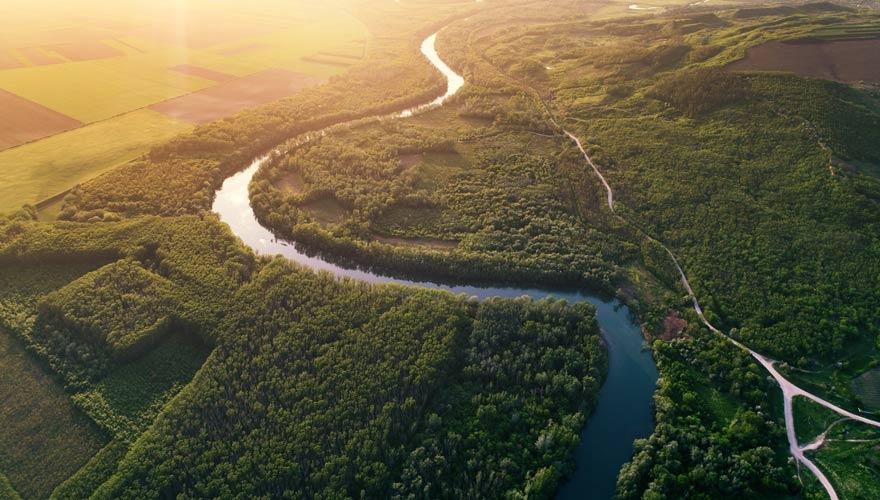 Moldau oder Moldawien ist eine dicht bewaldete Region in Rumänien