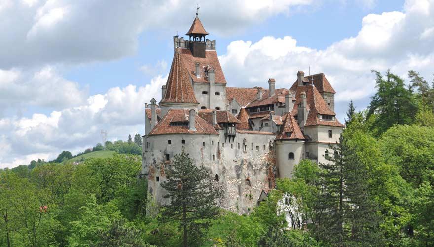 Schloss Bran ist das Highlight für viele Urlauber in Rumänien
