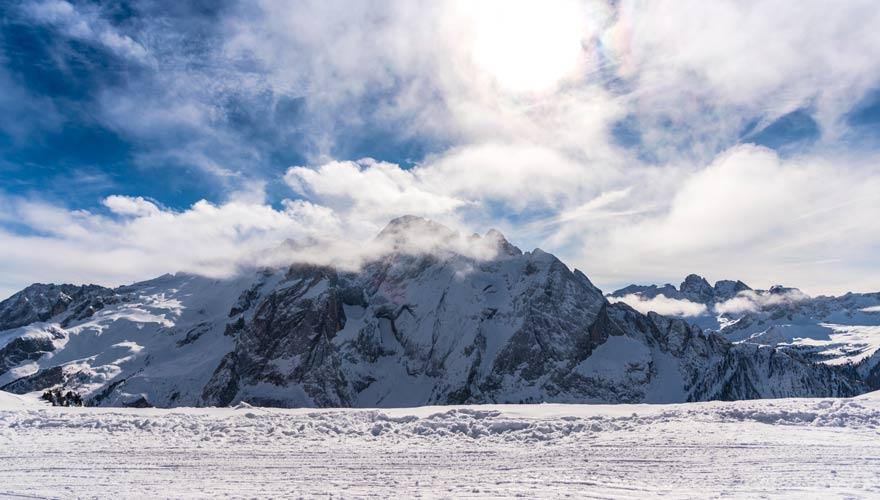 Das Skigebiet Sinaia bietet beste Schneebedingungen