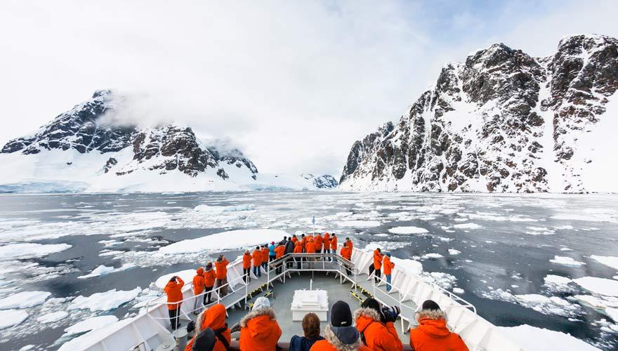 Eine Expeditionskreuzfahrt ist für Abenteuerhungrige genau das richtige