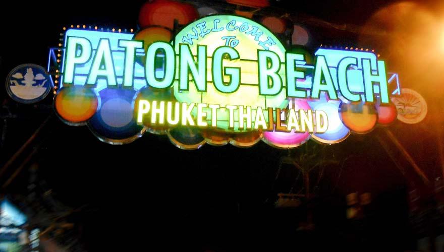 Patong Beach auf Phuket