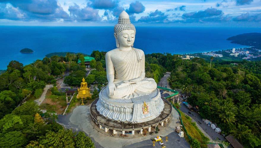 Big Buddha auf Phuket in Thailand