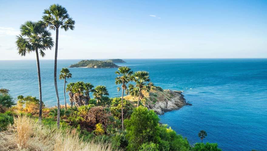 Ausblick von Promthep Cape auf Phuket