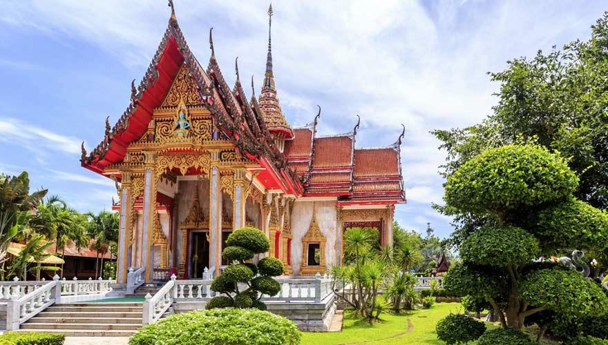 Wat Chalong Tempel in Phuket