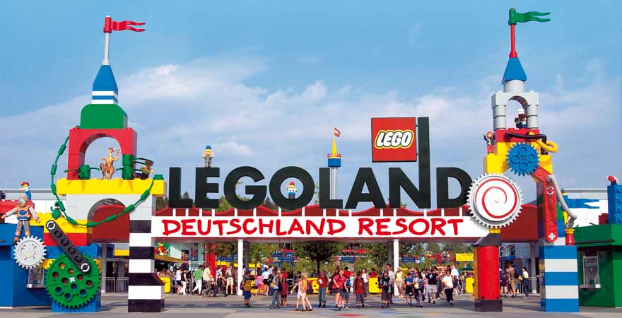 Eingang Legoland