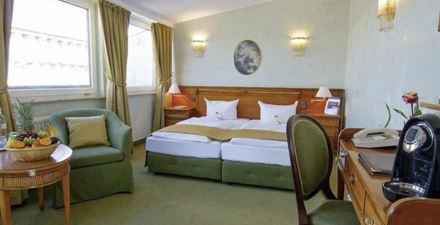 Hotelzimmer des Hotels am Luisenplatz in Potsdam