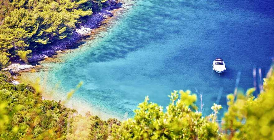 Sakarun Strand auf Dugi Otok