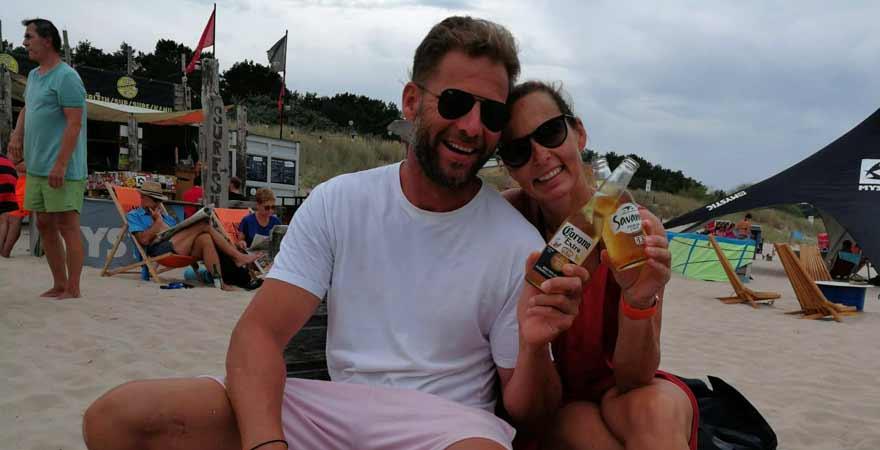 Dirk mit Corona Bier