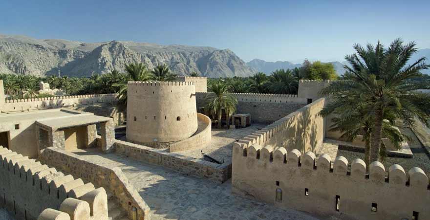 Festung Khasab im Oman