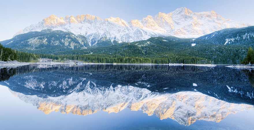 Garmisch Partenkirchen im Winter