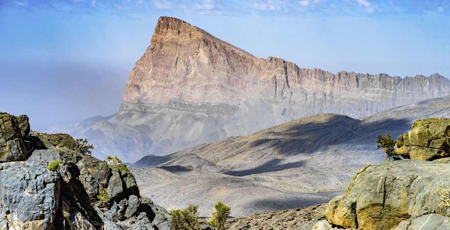 Jebel Shams im Oman